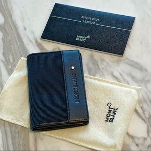 Montblanc Slim Wallet Card Holder NWOT Great Gift!